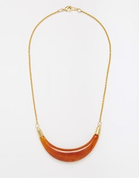Gogo Philip Bib Necklace Goldamber