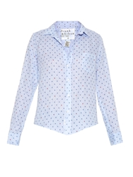 Frank And Eileen Barry Ladybird Print Linen Shirt