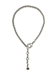 Lanvin Chain Necklace Metallic