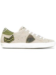 Philippe Model Lateral Patch Sneakers Grey