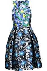 Peter Pilotto Printed Silk Satin Dress Multi
