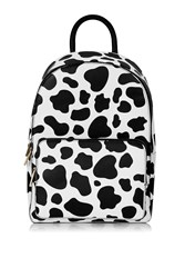Topshop Cow Print Backpack By Skinnydip Multi