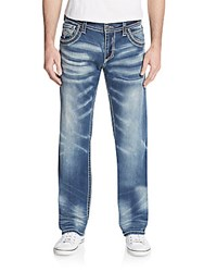Affliction Ace Standard Straight Leg Jeans Ruler