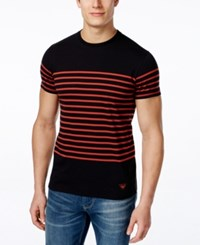 Armani Jeans Men's Sailor Striped T Shirt