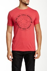 Bravado Red Hot Chili Peppers Wheel Outline Graphic Tee
