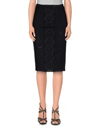 Pf Paola Frani Skirts Knee Length Skirts Women Black