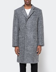 Native Youth Albatross Overcoat Grey Marl