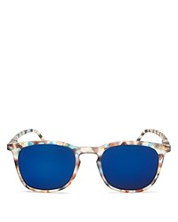 See Concept Mirrored Letmesee Collection E Sunglasses 35Mm Tortoise Blue Mirror