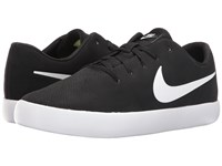 Nike Essentialist Leather Black White Men's Basketball Shoes