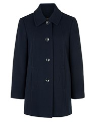 Eastex Navy Classic Coat