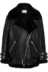 Acne Studios Oversized Shearling Biker Jacket