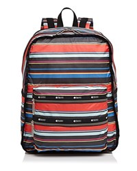 Le Sport Sac Lesportsac Functional Backpack Ribbon Stripe