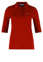 Lacoste Polo Shirt Bordeaux