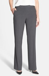 Petite Women's Anne Klein Straight Leg Pants Black