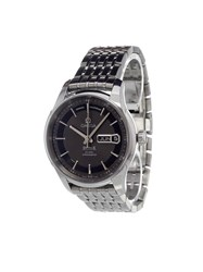 Omega 'De Ville Hour Vision Co Axil Annual Calendar' Analog Watch Stainless Steel