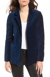 Zadig And Voltaire Women's Volly Velours Open Front Velvet Blazer