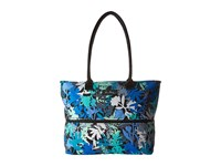 Vera Bradley Lighten Up Expandable Travel Tote Camo Floral Tote Handbags Multi