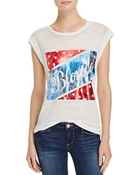 Pam And Gela American Blonde Tee White