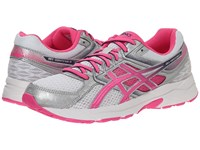 Asics Gel Contend 3 White Hot Pink Indigo Blue Women's Running Shoes Gray