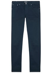 Citizens Of Humanity Bowery Navy Stretch Cotton Chinos