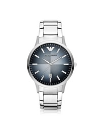 Emporio Armani Classic Stainless Steel Men's Watch Silver