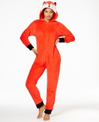 Pj Couture Character Hooded Jumpsuit Fox