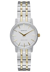 Gant Park Hill 32 Watch Silberfarben Bicolor Silver