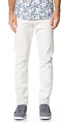 Baldwin Denim The Henley Slim Jeans White Sand