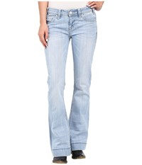 Rock And Roll Cowgirl Trousers Low Rise In Light Wash W8 7374 Light Wash Women's Jeans Blue