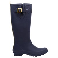 Joules Field Rubber Wellington Boots Navy