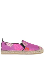 Etro 22Mm Linen And Silk Blend Espadrilles