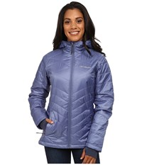 Columbia Mighty Lite Hooded Plush Jacket Bluebell Women's Coat