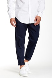Shades Of Grey Easy Pleated Dress Pant Blue