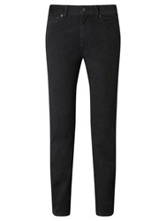 Gant Jason Soft Twill Regular Straight Jeans Charcoal Melange