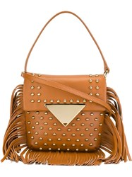 Sara Battaglia 'Cutie' Bag Brown