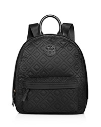 Tory Burch Ella Quilted Backpack Black
