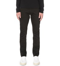 Tiger Of Sweden Iggy Slim Fit Stretch Sateen Trousers Black