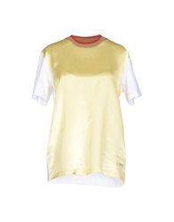 Miu Miu T Shirts Yellow