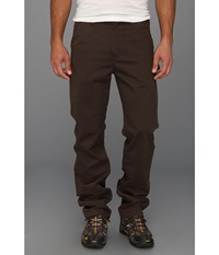 Carhartt Washed Twill Dungaree Dark Coffee Men's Jeans Brown