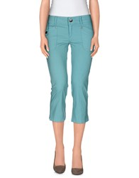 Guess Trousers 3 4 Length Trousers Women Turquoise