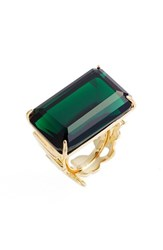 Kate Spade Women's New York 'What A Gem' Crystal Cocktail Ring