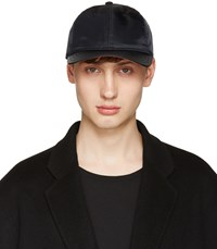 Rag And Bone Black Nylon Baseball Cap