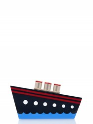 Kate Spade Expand Your Horizons Resin Ship Clutch