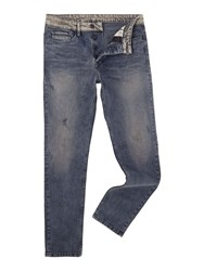 Calvin Klein Tapered Fit Jean Grey