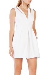 Bcbgmaxazria Women's 'Clarye' Crepe Fit And Flare Dress