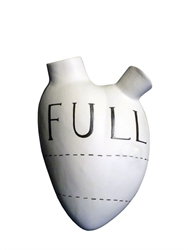 Fos Full Of Love Wall Vase Luisaviaroma Luxury Shopping Worldwide Shipping Florence