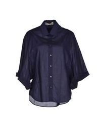 Veronique Branquinho Shirts Dark Blue