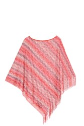 Missoni Fringed Poncho