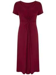 Nougat London Soho Midi Dress Red