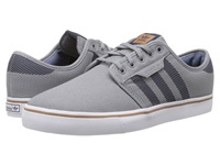Seeley Woven Grey Collegiate Navy Timber Men's Skate Shoes Gray